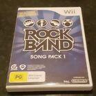 Nintendo Rock Band Nintendo Wii Video Games