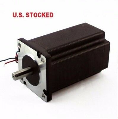 2pcs Nema23 570ozin 5a 14 Dual Shaft Stepper Motorkl23h2100-50-4bm