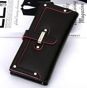 Womens Leather Bifold Wallet