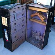 vintage wardrobe trunk - Wardrobe Trunk