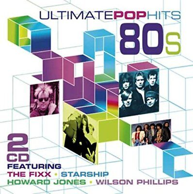 Ultimate Pop Hits of the '80s (Eighties) CD, 2015,  21 Tracks on 2 Discs, New 80s Pop Hits Cd