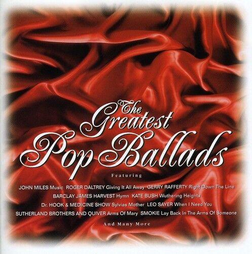 Various Artists - Greatest Pop Ballads/ Various [New CD]