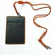 Leather ID Badge Holder