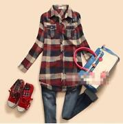 Women's Long Sleeve Check Shirt