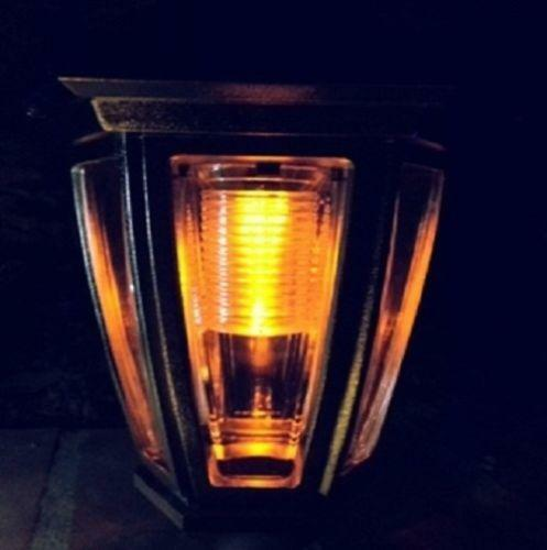 Outdoor Solar Lights Amber Ebay