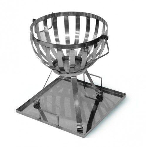 feuerkorb aus edelstahl g nstig online kaufen bei ebay. Black Bedroom Furniture Sets. Home Design Ideas