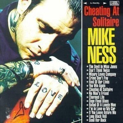 Mike Ness   Cheating At Solitaire  New Vinyl Lp