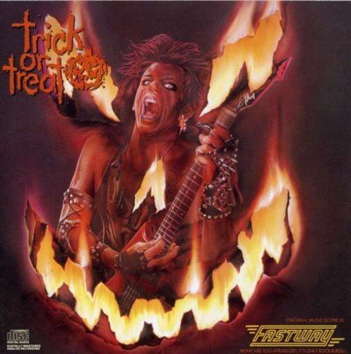 FASTWAY - TRICK OR TREAT (SOUNDTRACK)  (CD) Sealed (Halloween)