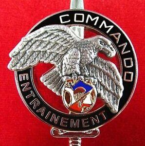 French foreign legion 2e rep commando badge centre national montlouis