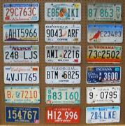 License Plate Craft