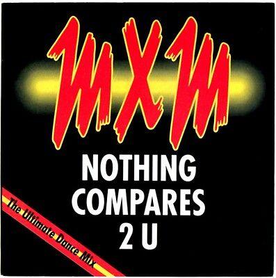 "MXM NOTHING COMPARES 2 U / Piano 4 U - aus 7"" NM-Sammlung 1990"