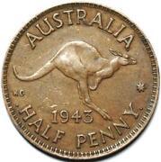 1943 Half Penny