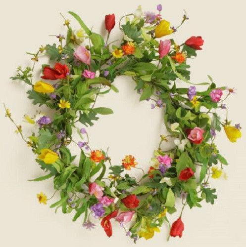 Floral Wreath Ebay