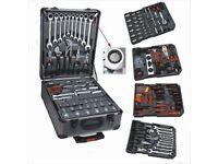 Premium Kraft 186 piece tool case.