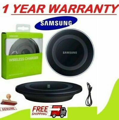 Samsung Wireless Charging Charger Pad For Galaxy S6 S7 S8 + S9 S10 UK Stock