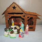 Cardboard Nativity