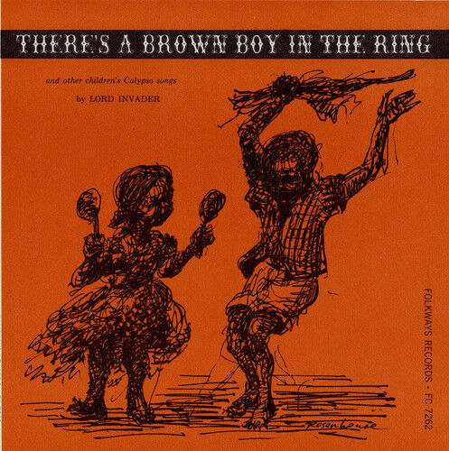 Lord Invader - There's a Brown Boy in the Ring [New CD]