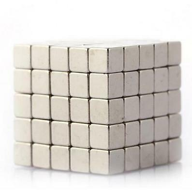 Lot Of 500 200 100 333mm Block Cubes Rare Earth Neodymium Super Magnets N48
