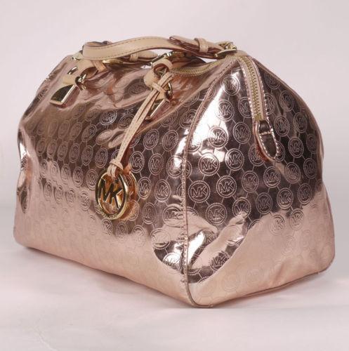 Michael Kors Rose Gold Handbag Ebay