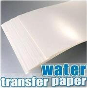 Inkjet Waterslide Decal Paper