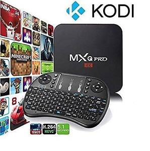 Brand New MXQ Pro VERY FAST 5.1 LOLLIPOP Android Tv Box