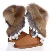 Fox Fur Boots