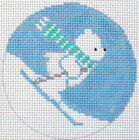 Melissa Shirley Designs Circle Needlepoint Canvases without Modified Item