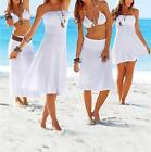 Ladies Strapless Beach Dress