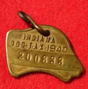 Antique Brass Tags