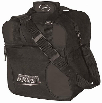 Storm Black 1 Ball Solo Tote Bowling Bag