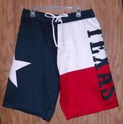 Texas Flag Shorts
