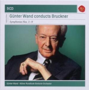Sinfonien 1-9 von Günter Wand,Kölner Rundfunk-Sinfonieorchester (2010)
