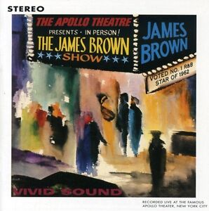 LIVE AT THE APOLLO 10/24/62 - BROWN,JAMES REMASTERED [CD NEW]