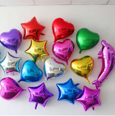 Love Heart Foil Balloon Wedding Engagement Party Birthday Celebration Decor 18