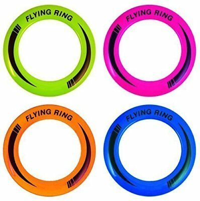 Flying Ring Frisbee - 1 Random Colour Supplied(R79088)