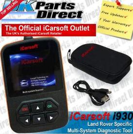 Range Rover & Jaguar i930 iCarsoft Scanner to read & clear fault codes