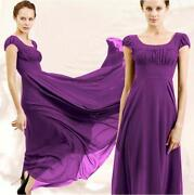 Purple Evening Dress Plus Size