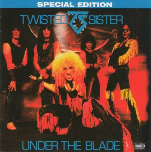 TWISTED SISTER - UNDER THE BLADE  Glam Metal CD