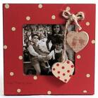 Red Shabby Chic Photo Frame
