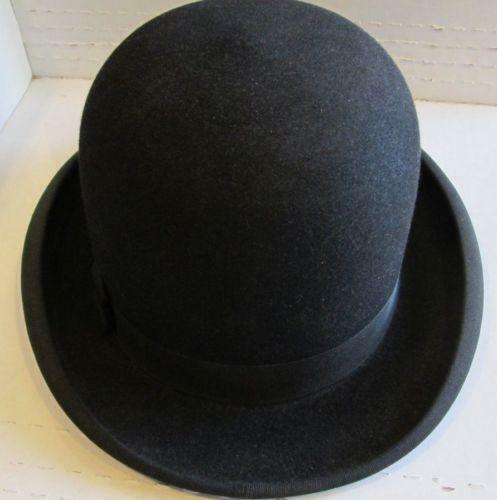 Vintage Bowler Hat  45fd66cc7f7b
