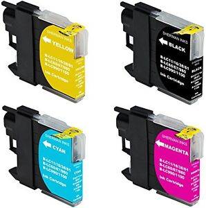 Compatible Ink for Brother LC61 (Each Color)