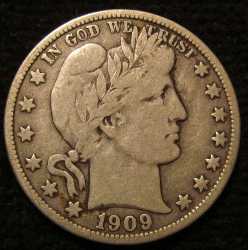 1909 Half Dollar Ebay