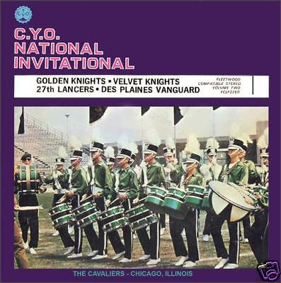 1970 Cyo 2 Drum Corps Cd Bsgk  Velvet Knights  27Th Lancers Des Plaines Vanguard