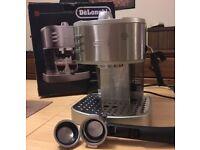 DeLonghi 2 Cup Espresso & Cappuccino Coffee Machine Maker 15 bar RRP:£150