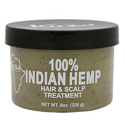 Kuza Indisch Hanf Haar & Kopfhaut Behandlung - 227ml [persönliche Pflege] - Hanf Kopfhaut Behandlung
