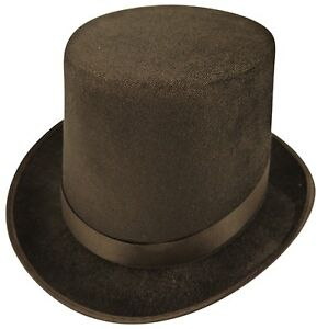 Mens-Lincoln-High-Top-Hat-Indestructible-Topper-Burlesque-1st-Class-Post-New