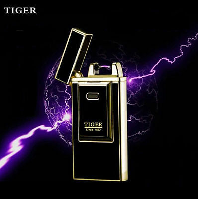 Rechargeable New Tiger Pulse Cigarette Lighter Electronic Flame+ USB charger