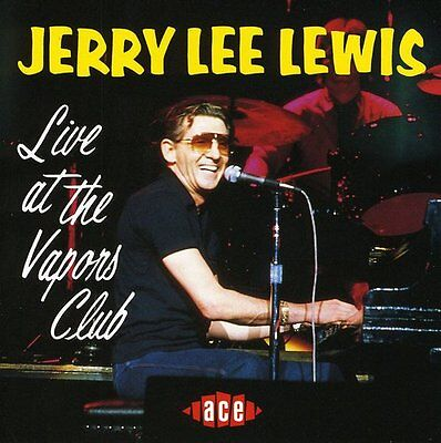 Jerry Lee Lewis   Live At Vapors Club  New Cd  Uk   Import