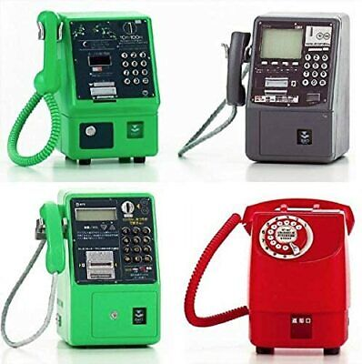 Takara NTT East Public Phone Miniature Collection Normal 4 types set from Japan