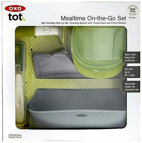 OXO Tot Mealtime On-The-Go Value Set
